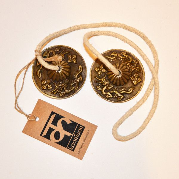 Traditional Ting-Sha used for meditation, space clearing and sound therapy.