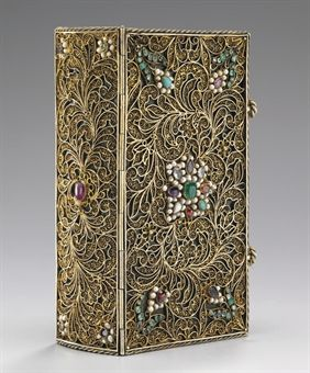 BINDING--JEWELLED BINDING -- St. AUGUSTINE. The Confessions. Paris, 1638.