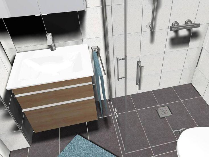Das Kleine Duschbad 3qm Kleine Duschen Wc Mit Dusche Dusche