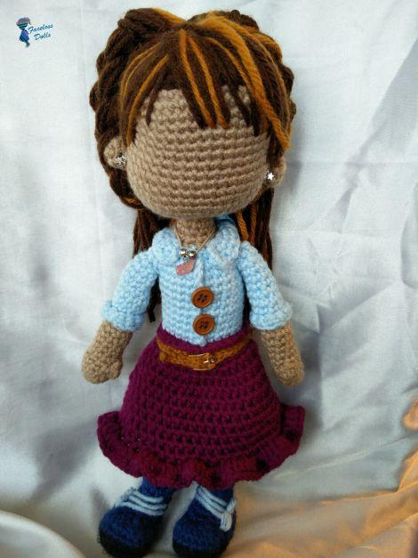 Amigurumi Doll Skirt : 17 Best images about Faceless Islamic Amigurumi Crochet ...