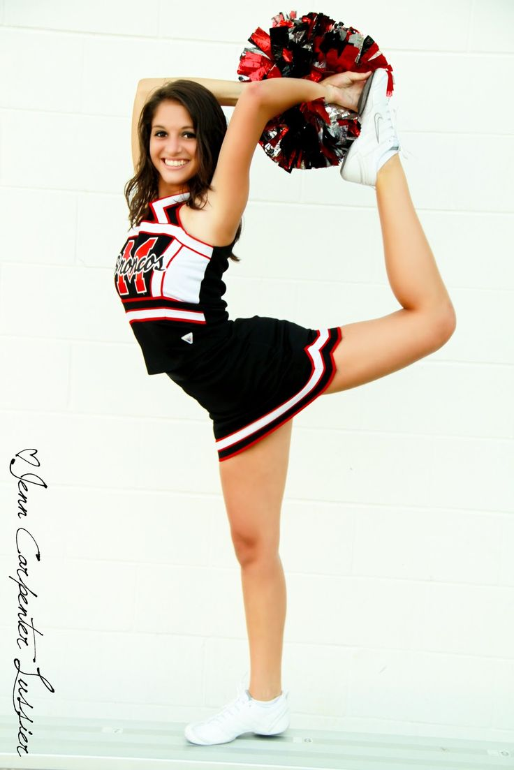 Senior Portrait / Photo / Picture Idea - Cheer / Cheerleader / Cheerleading