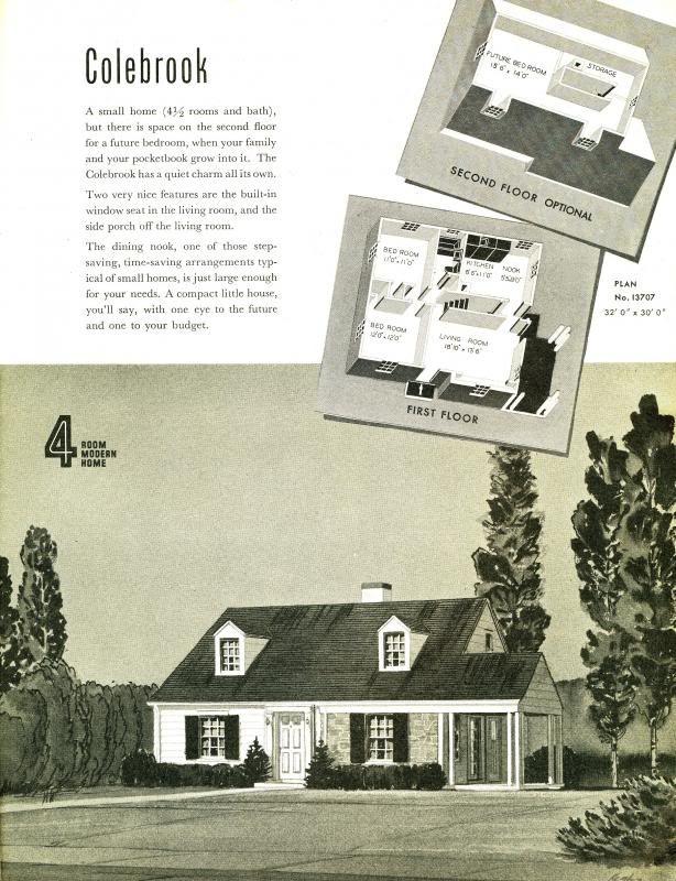 The Cape Cod House Sears Modern Homes Sears Homes
