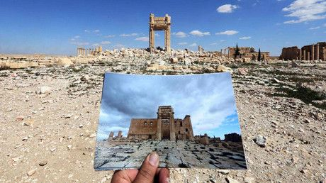 Published time: 11 Apr, 2016 16:02Edited time: 11 Apr, 2016 17:11 Get short URL           A boy takes a picture with his mobile phone of damaged buildings during his visit to the city of Palmyra, S… https://winstonclose.me/2016/04/12/time-to-build-new-syria-russian-deputy-defence-minister-speaks-of-op-peace-in-rt-exclusive-written-by-rt/