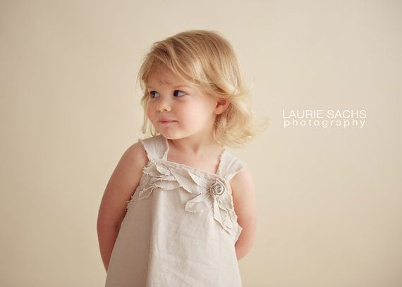 Toddler Girl Rustic Flower Girl Dress Country by VillageApparel, $65.00