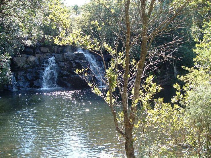Venda      sacred waterfall