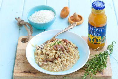 Mój zbiór przepisów kulinarnych-  wyszukane w sieci: Perfekcyjne risotto z rydzami
