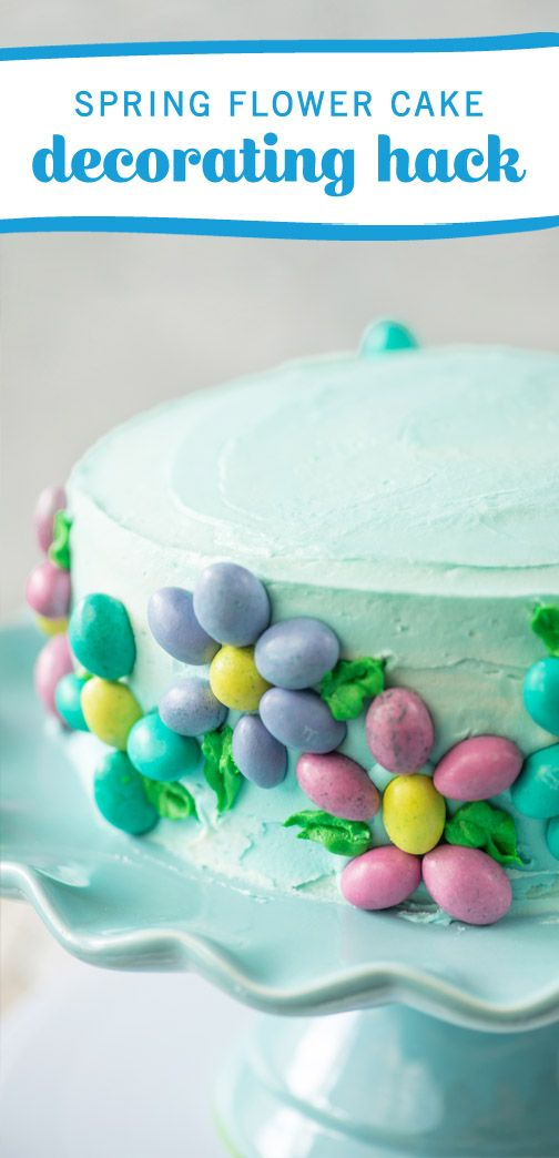 When you picture the perfect dessert for your Easter table, this Spring Flower Cake is sure to top the list. Turning your favorite mix into a showstopping creation is easy with this decorating hack using pastel-colored Peanut Easter M&M's®! See the homemade frosting recipe to add another level of sweet flavor to this delicious treat. Plus, you can find all the simple ingredients you need at Kroger.