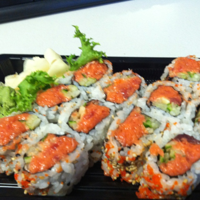 Spicy tuna sushi from Ichigo Ichie