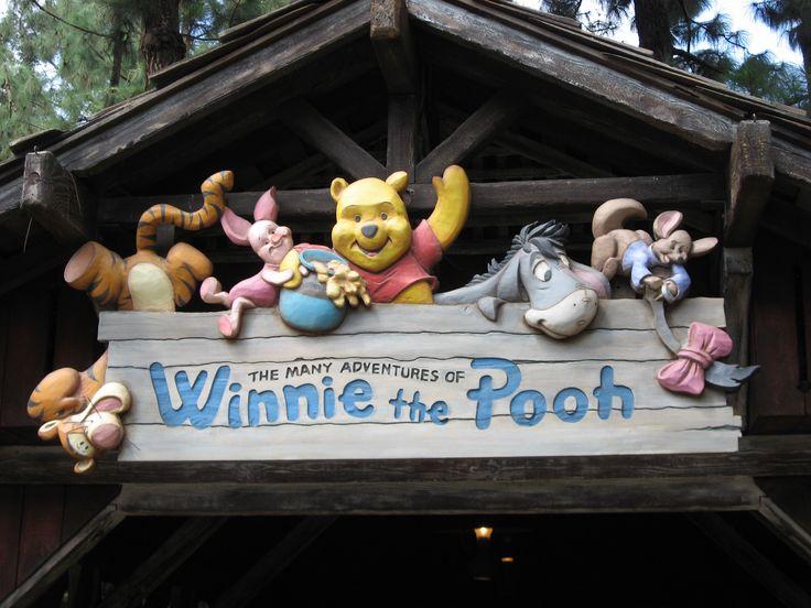 Walt Disney World - Magic Kingdom - The Many Adventures of Winnie the Pooh