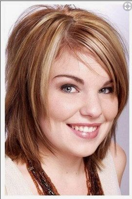 Hairstyles For Chubby Double Chin Face Short Hairstyles For Fat