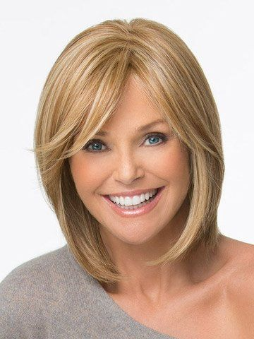 MARIAN Fashion Hairstyles Medium Long Wave Bob Wigs for Women Brown Blonde with a Free Wig Cap