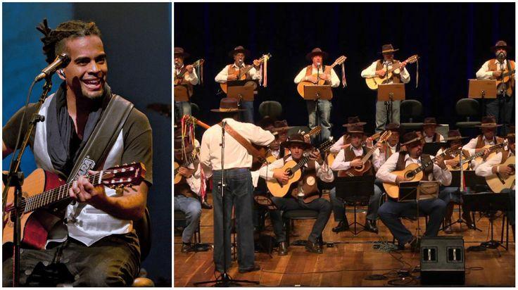 """O projeto """"Quartas Musicais"""" recebe os shows de Jair Oliveira e apresentação da Orquestra Paulistana de Viola Caipira."""