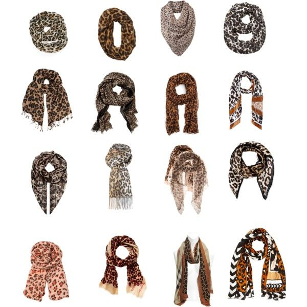 """Leopard printed scarves1"" by elena-temelkovszki0 on Polyvore"