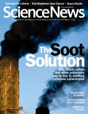 Climate change beyond CO2: methane, hydrofluorocarbons, soot (black carbon)