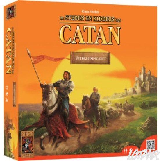 Spel Kolonisten van Catan uitbreiding Steden en Ridders (999 games)