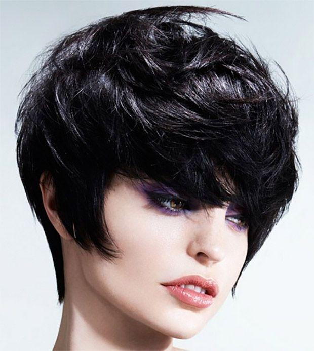 capelli corti neri