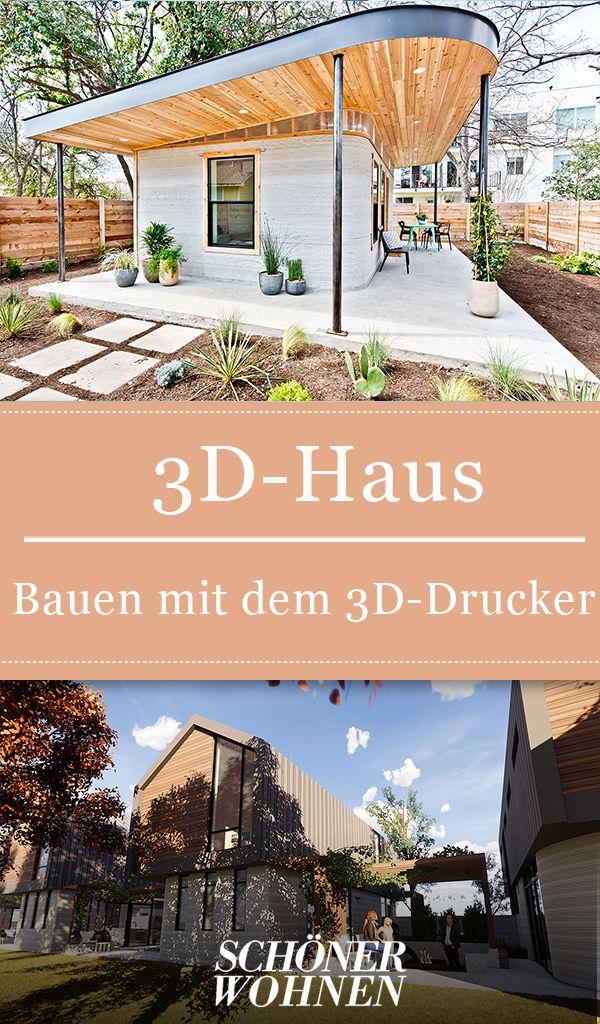 3D-Haus: Bauen mit dem 3D-Drucker in 2019 | 3D-Druck: Möbel ...