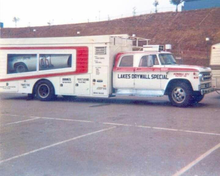 Bobby Allison Race Car Transporter