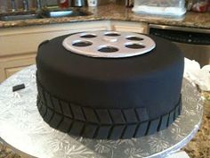 Yes It's Cake!: Tire Cake http://integratire.com/ https://www.facebook.com/integratireandautocentres https://twitter.com/integratire https://www.youtube.com/channel/UCITPbyTpbyNCDeEmFbYFU6Q