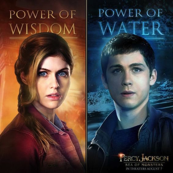 New Percy Jackson: Sea Of Monsters Posters