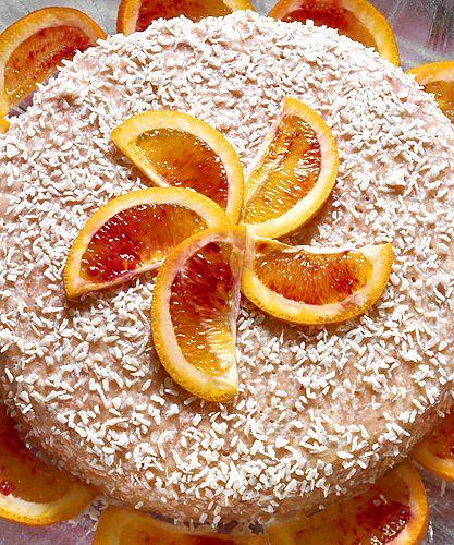 Rabarber- och apelsinfromage   Recept.nu