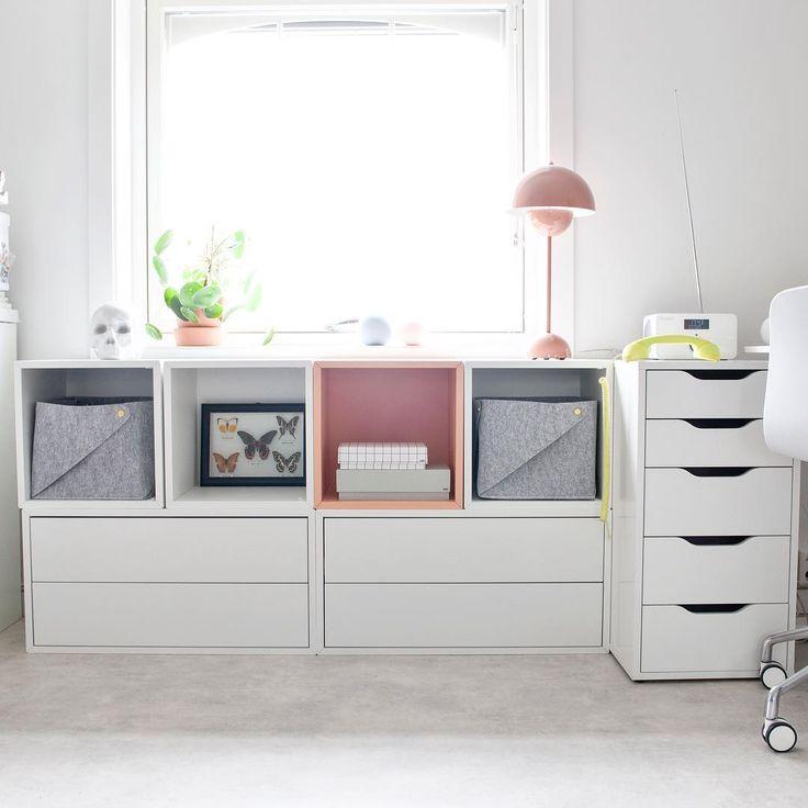 les 25 meilleures id es de la cat gorie ikea eket sur pinterest d cor mural ikea tag res. Black Bedroom Furniture Sets. Home Design Ideas