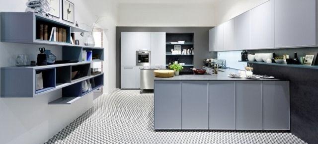 Inspirujące projekty kuchni w macie. Kuchnia z linii Carisma Lack, Nolte Küchen