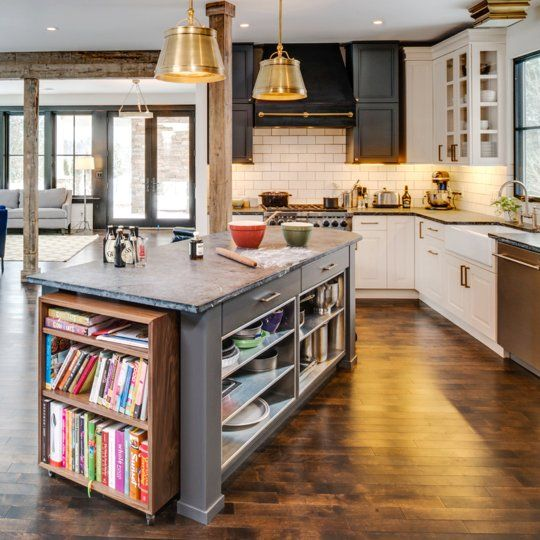 Look! A Kitchen Island with Moving Parts Kitchen Inspiration
