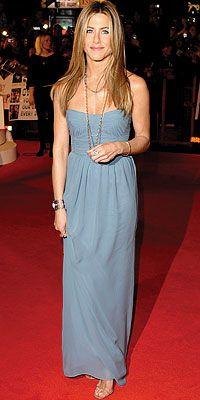 Jennifer Aniston ~ blue dress