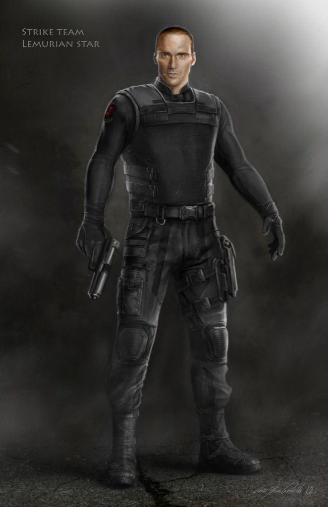 concept art for rumlow in strike team gear from quotcaptain