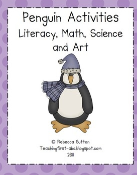 This new and revised Penguin Activities packet is 82 pages long and chuck-full of fun and engaging centers and projects that all your students enjo...
