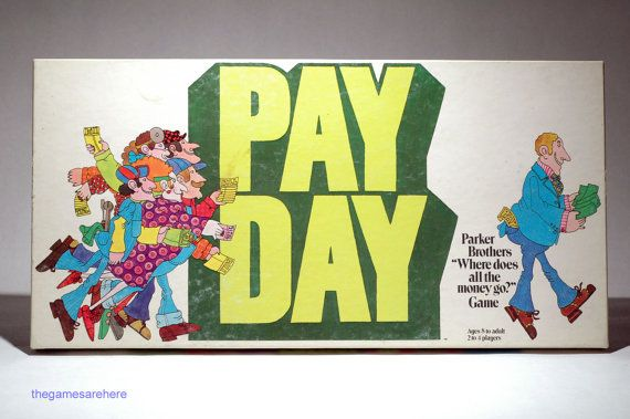 Payday Board Game from Parker Brothers 1975 by TheGamesAreHere, $25.00