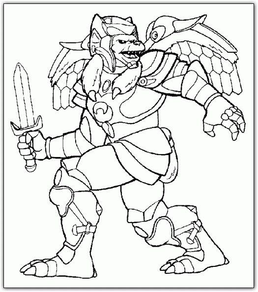 Power Rangers winged monster