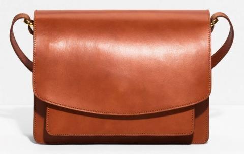 Saddle Stitch Leather Shoulder Bag & Other Stories vu dans la presse à retrouver sur Selectionnist.com