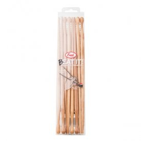 FRED Beat It Drumstick Chopsticks!  Shaped like drumsticks on one side and traditional chopsticks on the other, these are sure to give dinner time a little more rhythm.  Each package contains 4 sets of chopsticks.  Food-safe and reusable!  www.shopbluehorse.com