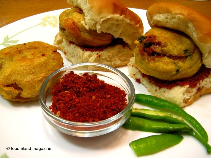 Vadapao- Indian Burger