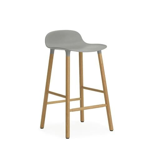 Form Counter Stool - Oak Legs