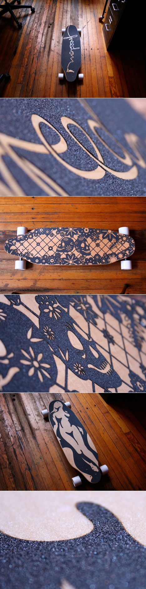 As a longboarder, I know how hard it is to make a grip exactly how you want it. These are perfection of a skateboard.