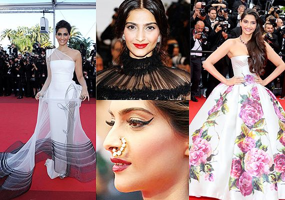 Cannes 2014: Sonam Kapoor's red carpet appearances so far (see pics)