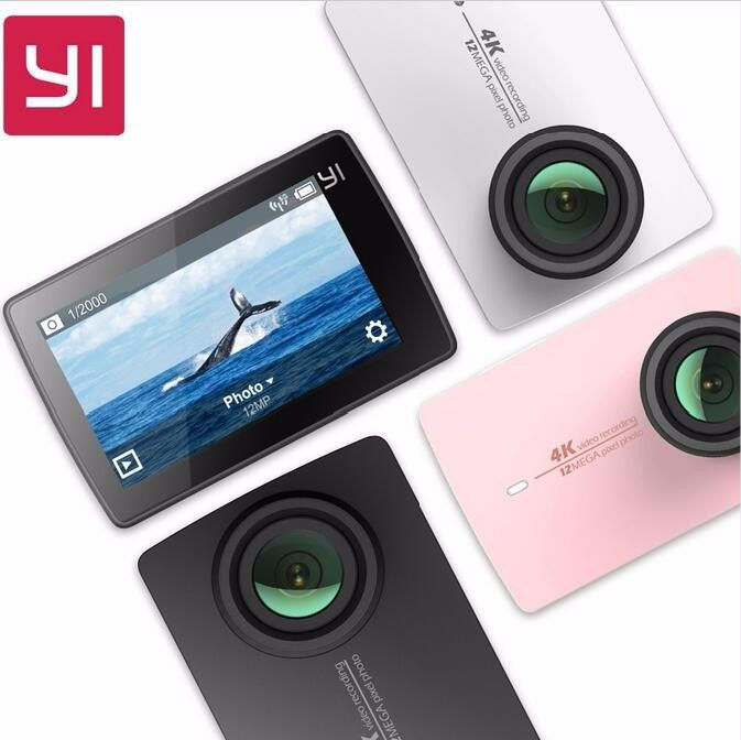 [International Edition] Xiaomi YI 4K WiFi Action Camera 2 Ambarella A9SE Xiaoyi Sports Camera II 2.19″ 155 Degree CMOS EIS LDC – Shop Now! – WorldOfTablet.com