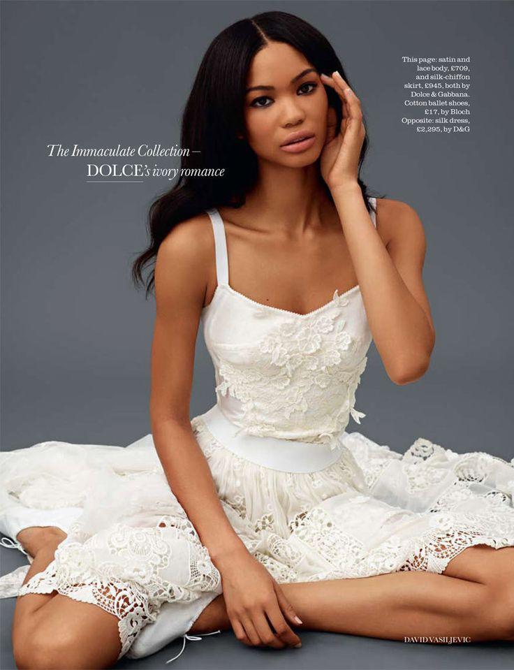 my favorite victoria secret model <3 Chanel Iman