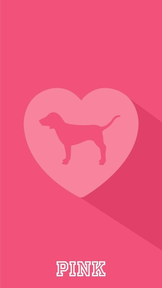Wallpaper Para Iphone Victoria S Secret Wallpaper Pink Dog Pink Pinterest