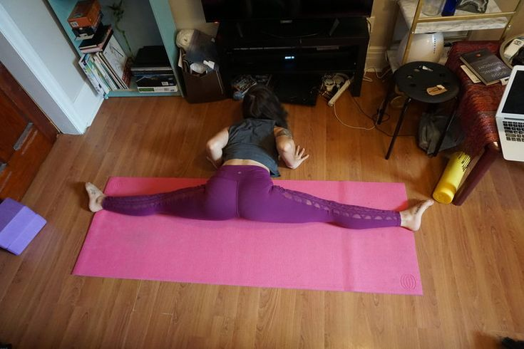 Get Your Middle Splits Fast & Safely With This Easy to Follow Routine!
