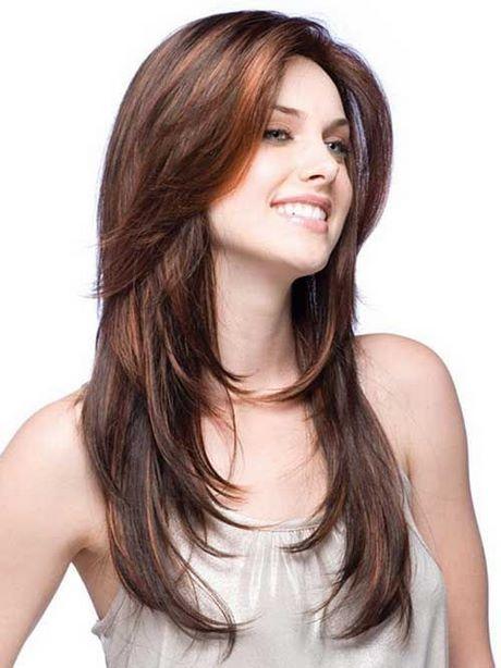 Lange Frisuren Für Frauen Mit Runden Gesichtern Frauen Frisuren