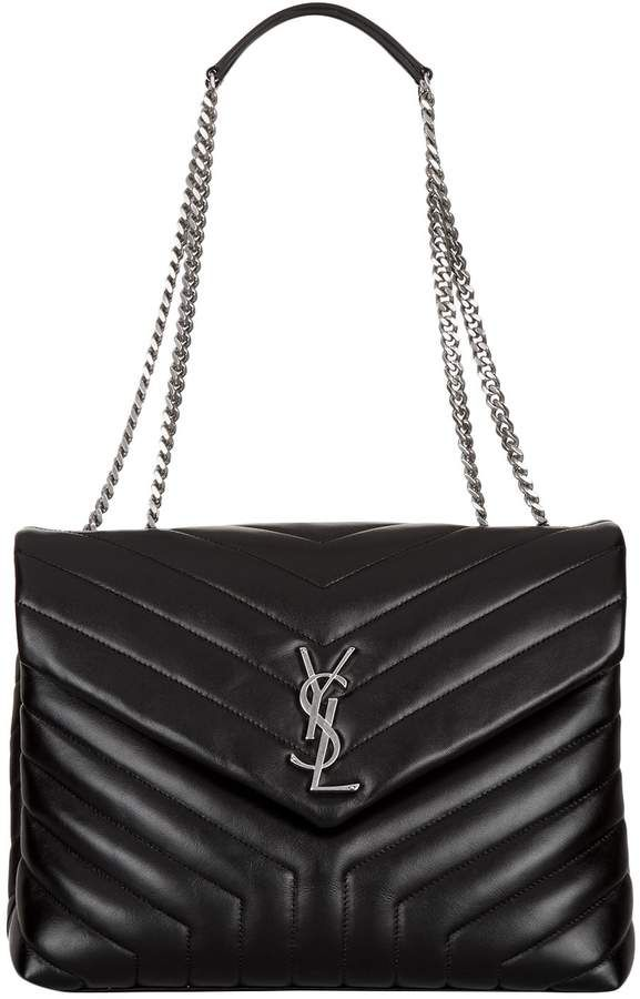 Saint Laurent Small Matelassé Loulou Shoulder Bag bdb8d75126c68