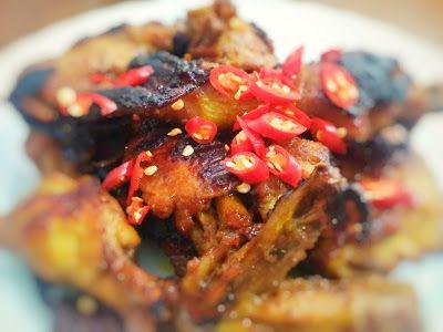 Resep Masak Ayam Bakar Pedas Manis