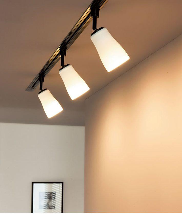 波佐見焼 Ledスポットダクトレール用 60w相当 傾斜天井対応 照明