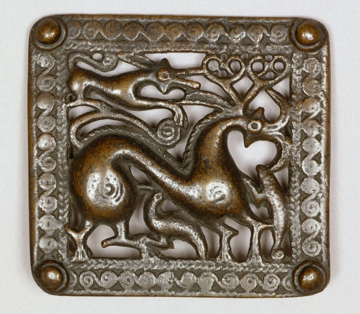 Belt Buckle, 1st or 2nd century, Eurasian (South Ossetia, Georgia, and north Caucasus), Bronze, 9.75 x 10 cm