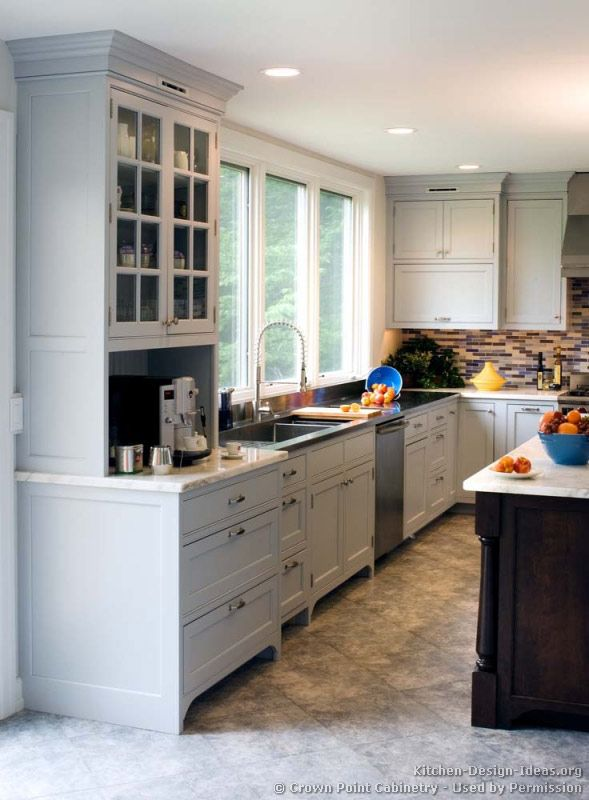 Transitional White Kitchen Cabinets 1512 best kitchens of the day images on pinterest | kitchen