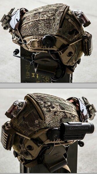 Nice air frame helmet setup